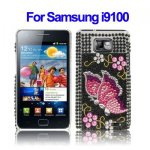 Housse I Love You strass Samsung Galaxy S2 /I9100