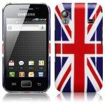 Coque Drapeau Anglais Samsung S5830 Galaxy Ace