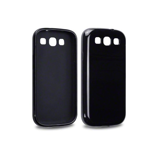 coque pour samsung galaxy s3 i9300 silicone brillante. Black Bedroom Furniture Sets. Home Design Ideas