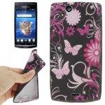 Coque Pour Sony Ericsson Xperia Arc S  avec Pierres Incrustés