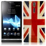 Housse, Coque Drapeau Angleterre, UK pour Sony Ericsson Xperia S