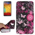 Coque silicone design à papillons pour iPhone 5/5S