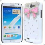 Coque Pour Samsung Galaxy Note 3 N9000 Noeud Strass