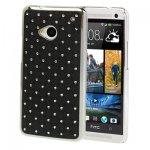Coque Pour HTC One M7 avec Pierres Incrustés