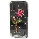Coque Pour LG Google Nexus 4 Bling Strass