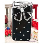 Coque Pour Iphone 5C Noeud Diamond Strass