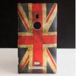 Coque de Protection Arrière Drapeau Angleterre, UK pour Nokia Lumia 520