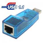 Adaptateur USB 1.1 RJ45 10/100M Ethernet Lan Carte Reseau