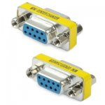 Convertisseur Serial RS232 DB9 9 Pin Femelle Vers Femelle
