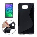 Coque Silicone pour votre Samsung Galaxy Alpha G850F