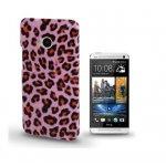 Coque Pour HTC One M7 Léopard