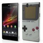 Coque, Housse GameBoy Rétro pour Sony Ericsson Xperia Z