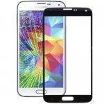 Ecran Vitre Samsung Galaxy S5 / G900 Noir