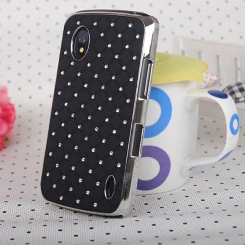 Coque Arrière de Protection avec Pierres Incrustés pour LG Google Nexus 4