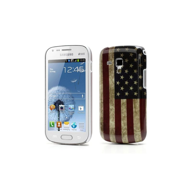 housse coque drapeau usa pour samsung galaxy trend s7560 galaxy s duos s7562