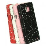"""Coque """"Miss Bourge"""" pour Galaxy S2"""