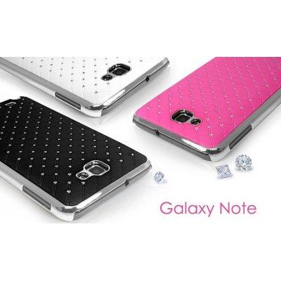 Coque Chrome de Lux Pour Samsung Galaxy Note I9220 GT-N7000