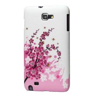Coque Rosa TPU Pour Samsung Galaxy Note I9220 GT-N7000