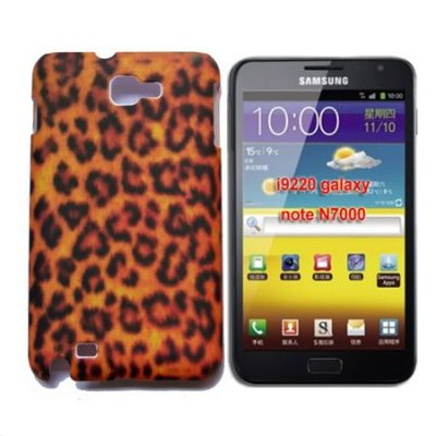 Coque Leopard Pour Samsung Galaxy Note I9220 GT-N7000