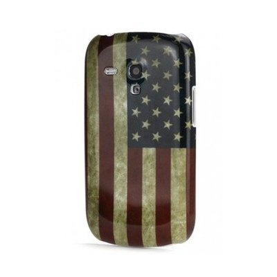Housse, Coque Drapeau USA Samsung Galaxy S3 Mini I8190