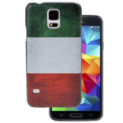 Housse, Coque Drapeau Italien Pour Samsung Galaxy S5 I9600