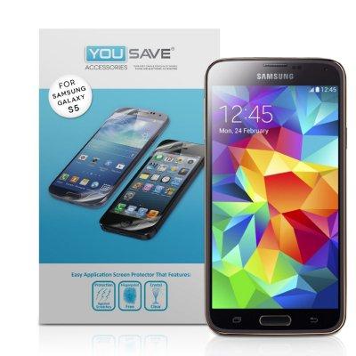 Film Protecteur Clair Pour Samsung Galaxy S5 I9600