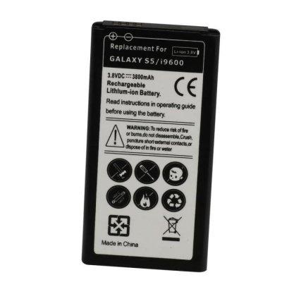 Remplacement Batterie Pour Samsung Galaxy S5 I9600 3800mAH